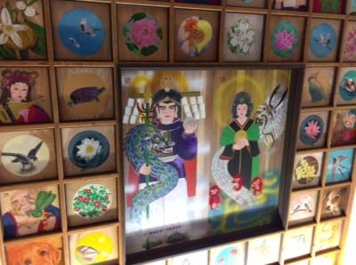 水神宮天井画