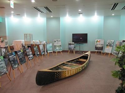 カヌー展示