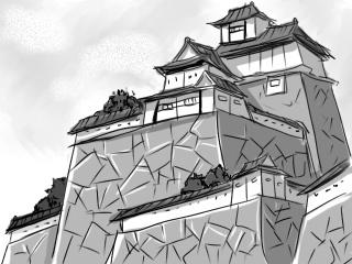 適当に描いたけど、これ何城なんでしょうな