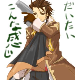 藤島さんのデザは、時折、難解な髪型の人が居るので(その筆頭はクラトス)、ムズイ。