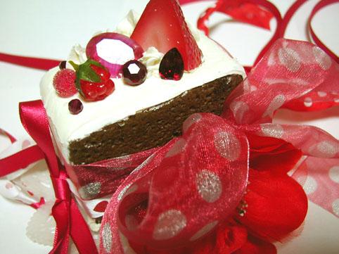 キノコのケーキ