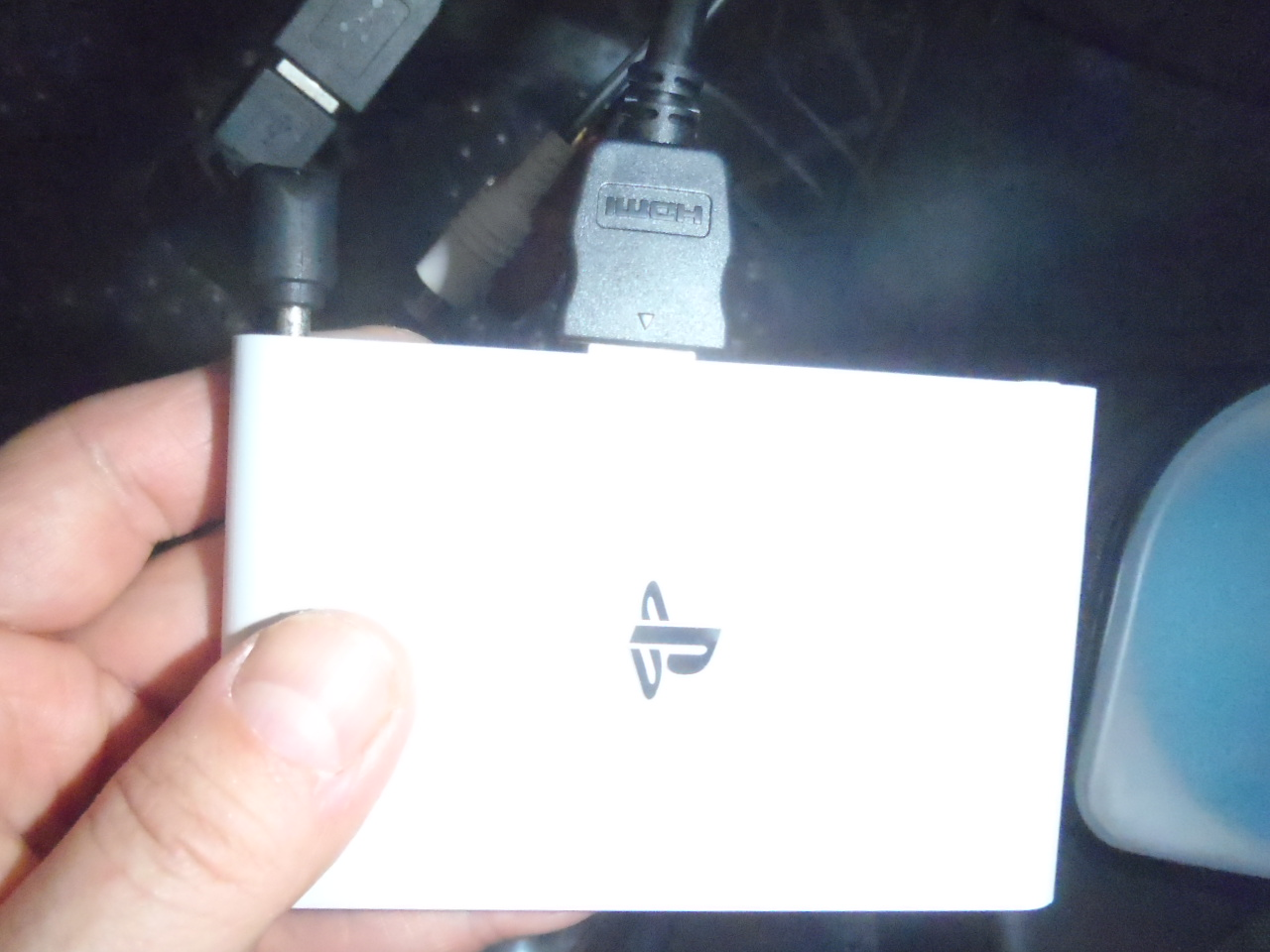 Pioneer CYBER NAVI にPS VITA TVを接続