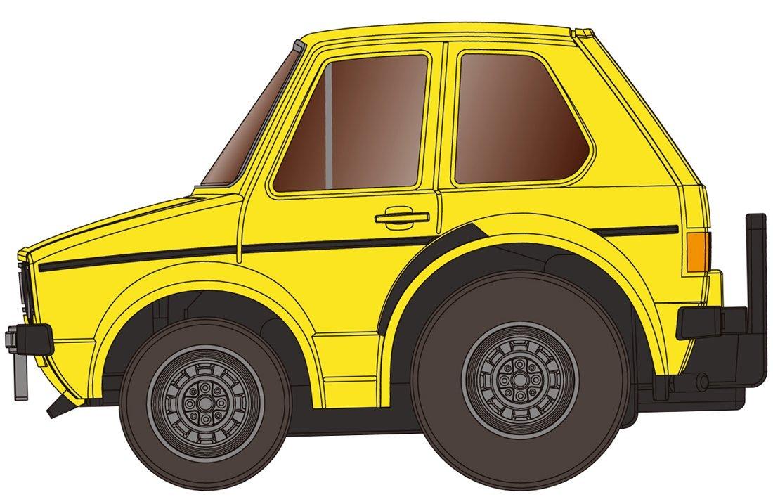 チョロQ zero Z-34a VWゴルフI (黄色)