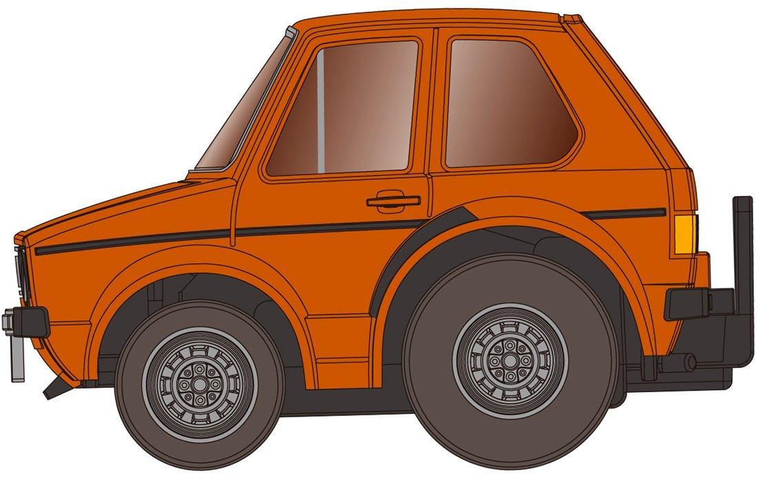 チョロQ zero Z-34b VWゴルフI (茶色)