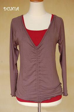 20140103シャーリングTシャツ