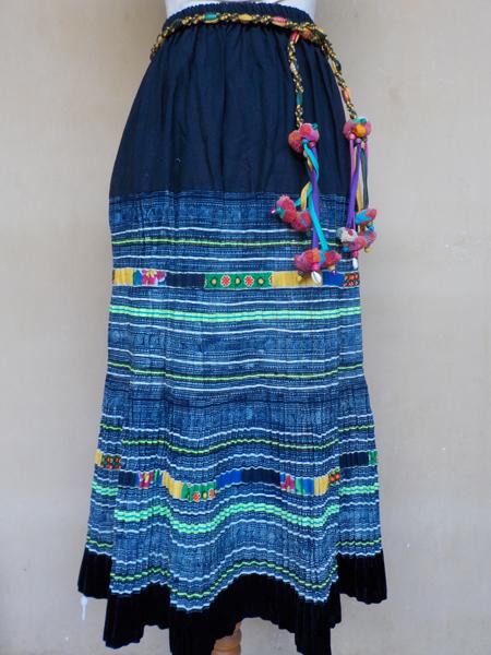 20150726藍染スカート