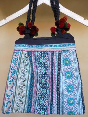 20150727古布刺繍バッグ