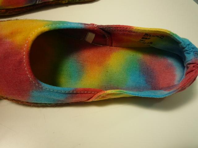 タイダイ 靴