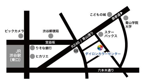 カラーセンター 地図