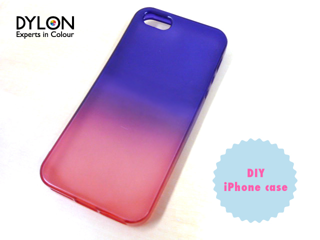 dyed iPhone case