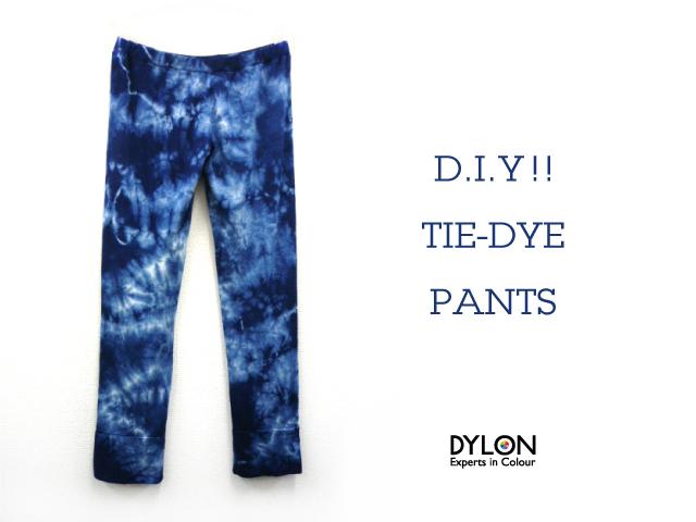 Tie-dye pants