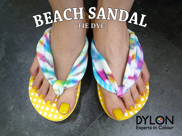 beach sandal DIY