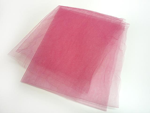 ナイロンチュール ピンク