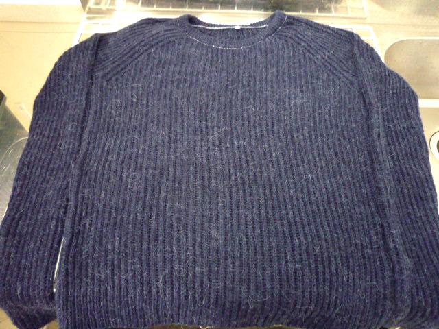 セーター 染め替え