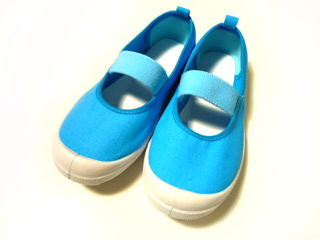 上履き 青