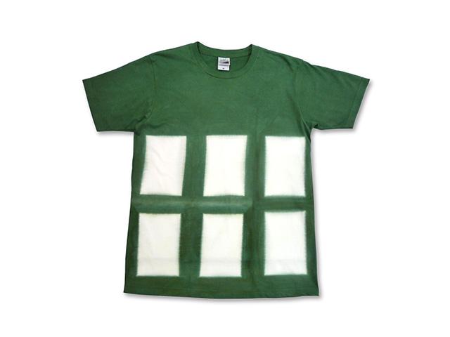 板締め絞り Tシャツ