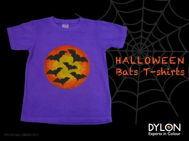 halloween bat tee