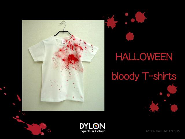ハロウィン 血 Tシャツ