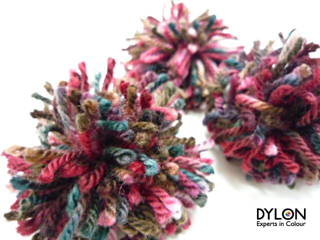 手作り 毛糸 ポンポン