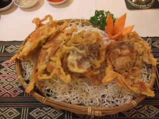 Fried Soft Shell Crab with Butter