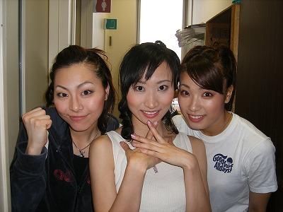 左からユウ スー ランの河野悠里 桑原由夏 高橋千佳さん