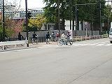 ニ高は自転車でいざ決戦場へ。
