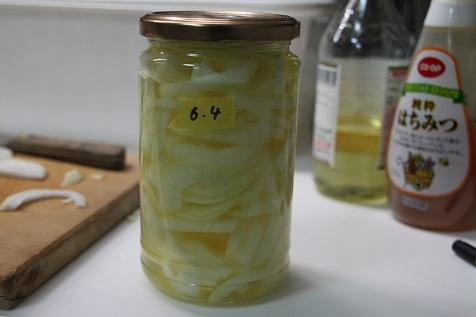 酢玉ねぎ作り