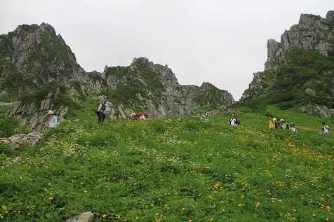 木曽駒ヶ岳2015.8.5
