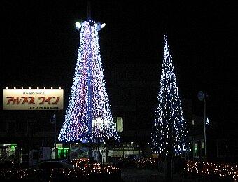 塩尻駅前イルミネーション '08