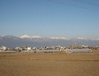 09北アルプス連峰