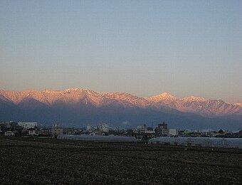 北アルプスの冬3