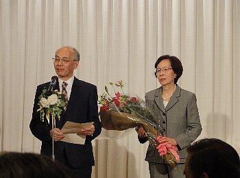野坂教授ご夫妻