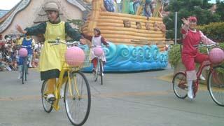 自転車小僧?
