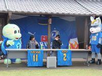 慎吾さんと亮さんとウサギと亀