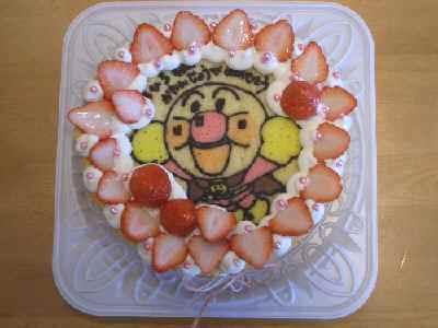 智紘の誕生日ケーキ