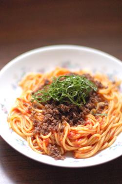 ひきにくのスパゲティ