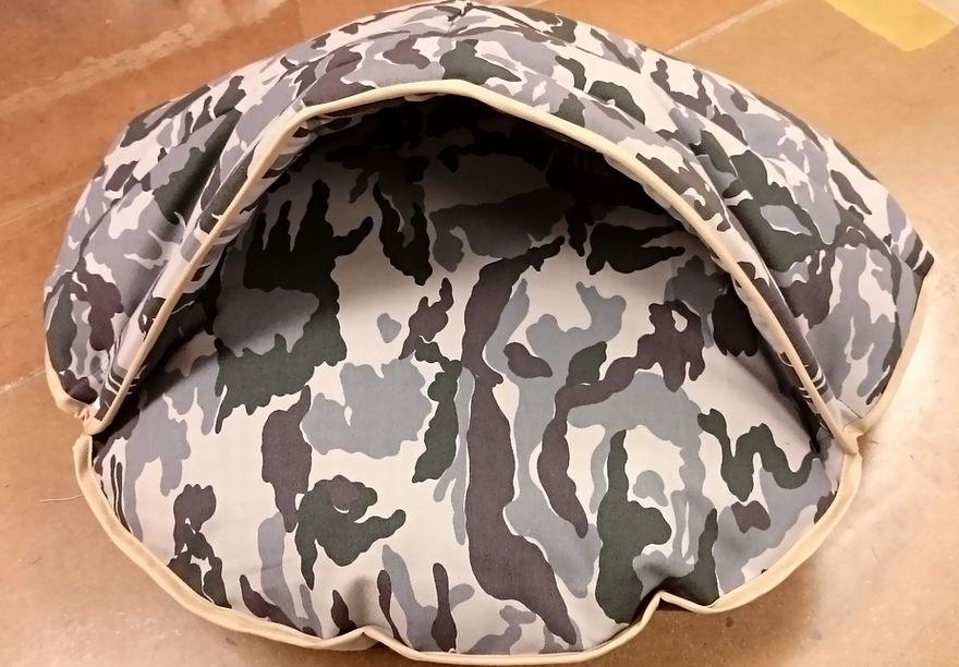 ペット羽毛布団 カモフラ