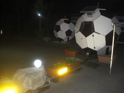 夜間ライトアップ