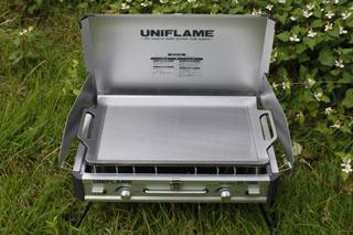 ユニフレーム + コールマン413対応鉄板