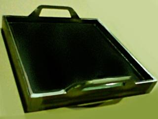 鉄板 22.0m厚 側面9,0mm厚 300x300mm