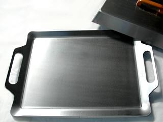snowpeak対応鉄板 90mm厚+ フタ