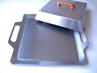 オリジナル鉄板Mサイズ9.0mm厚+フタ