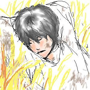陽人初描き