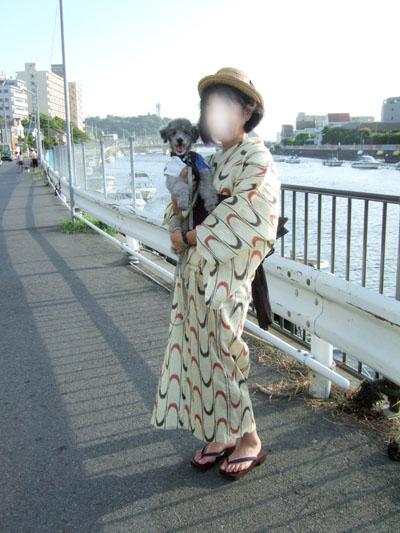 2010年江の島納涼花火大会 浴衣