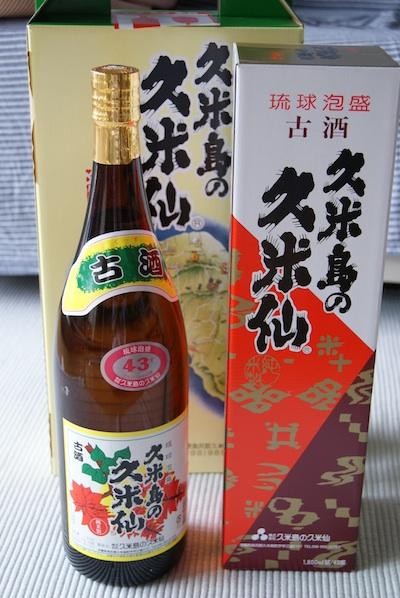久米島の久米仙古酒でいご