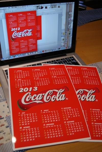 2013年手作りカレンダー