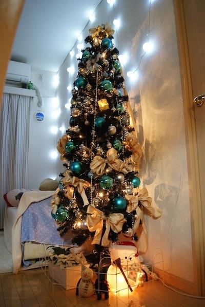 スノーマンしろたんとクリスマスツリー 2012年