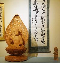 吉良悦朗さん「彫刻と絵展二人展」