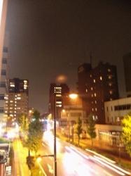 雨の前橋☆
