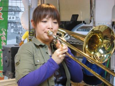 トロンボーン演奏♪